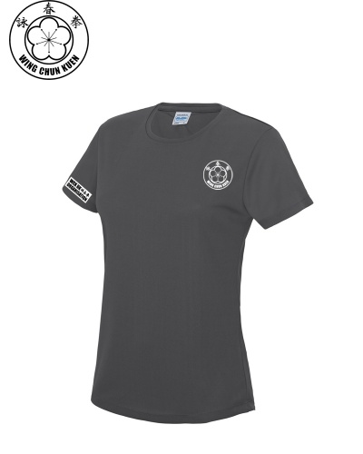 WCKUK Womens Charcoal Training Shirt